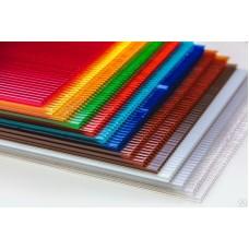 Поликарбонат цветной  3,8 мм ТИТАНПЛАСТ (удельный вес 0,46 кг/м2)