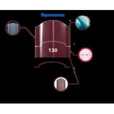 Штакетник глянцевый двусторонний европланка (130 мм). Цена за м.п.