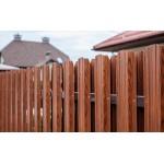 Металлический штакетник (забор)