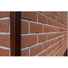Фасадная плитка ТЕХНОНИКОЛЬ HAUBERK Бельгийский кирпич (ДхШхВ): 1000×250×3 мм