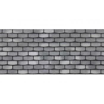 Фасадная плитка ТЕХНОНИКОЛЬ HAUBERK  ,Камень,Сланец (ДхШхВ): 1000×250×3 мм