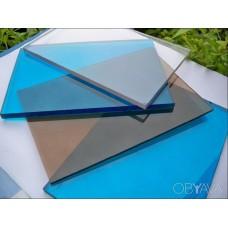 Поликарбонат монолитный 1 мм цветной  (2050*1250)