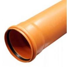 Труба для канализации (110 )3 м Рыжая