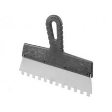 Шпатель фасад. зубчат. нерж. 250мм зуб 10х10 STARTUL MASTER (ST1004-2501) (для клея) (ST1004-2501)