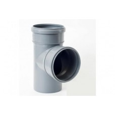 Тройник 50*50\87,5 для канализации внутренний